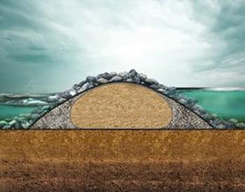 Применение геотуб SoilTain -1