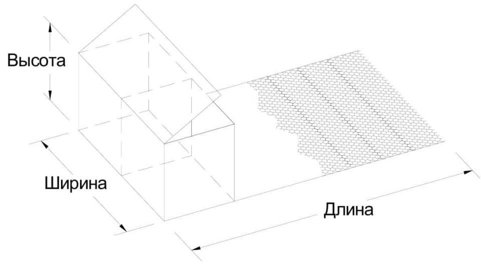 Коробчатый габион с армирующей панелью